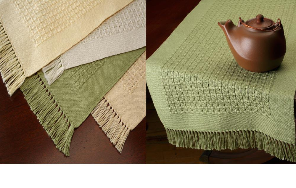 handwoven home decor from Bewoven Studio
