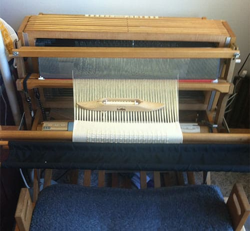 8 harness Schacht Baby Wolf loom